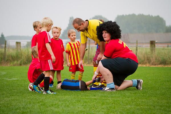 25/09/2013: FC Edeboys U7 - Rode Duivels