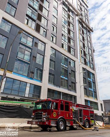2nd Alarm HiRise Fire - 851 Washington Blvd, Stamford, CT - 5/21/21