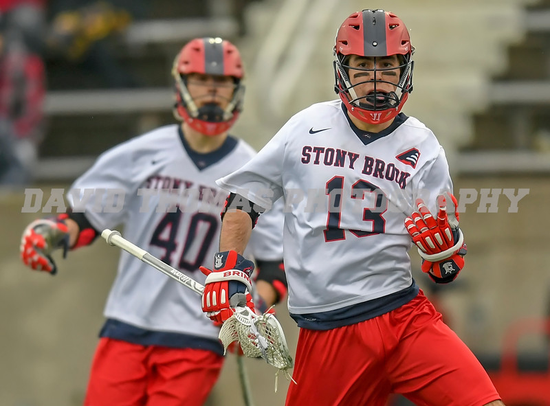 Stony Brook vs Sacred Heart Men's Lacrosse 2018