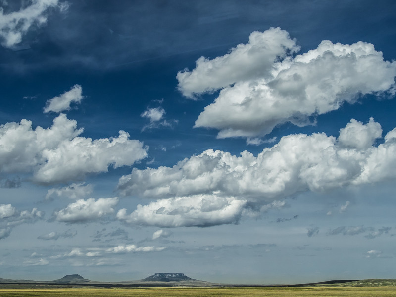 Big Skies over Green Meadows in Montana