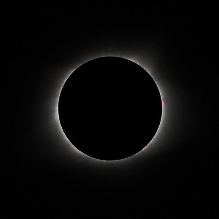 Eclipse Photography - Bonnots Mill, Mo