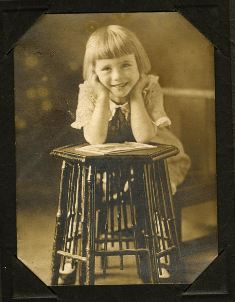 Gladys' daughter Gertrude, age 4