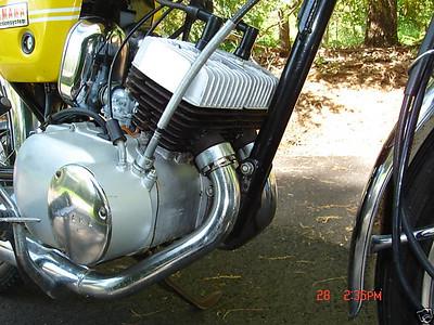 1970 Yamaha HS1 90cc Twin