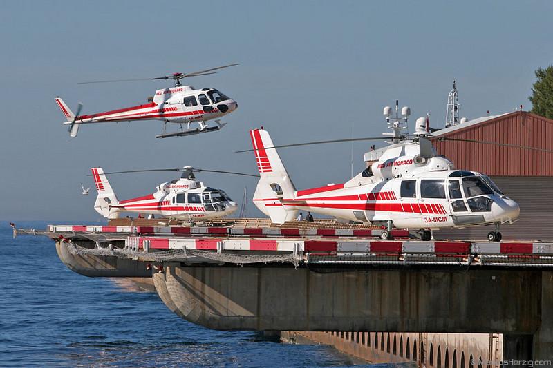 3A-MCM AS365N Heli Air Monaco @ Monaco 28Mar05