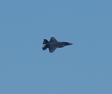 F-35B's arrival to MCAS Yuma