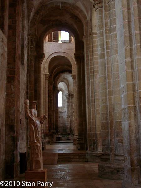Abbey Church of Saint Foy Aisle