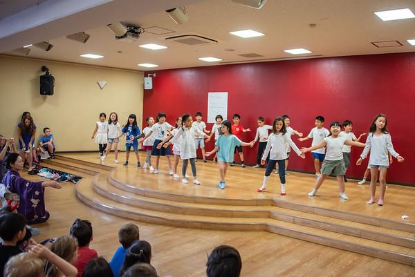 Grade 1 Japanese Dance Performance