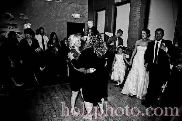 Mary Beth and Andrew B/W Wedding Photos