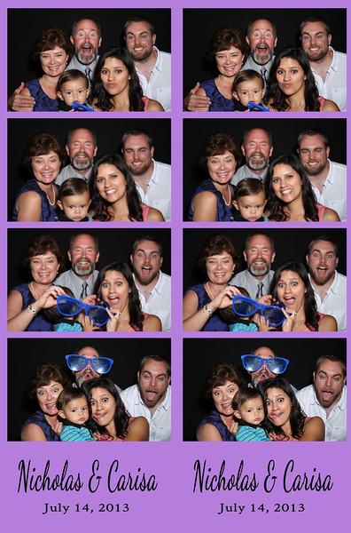 Nicholas & Carisa July 14, 2013