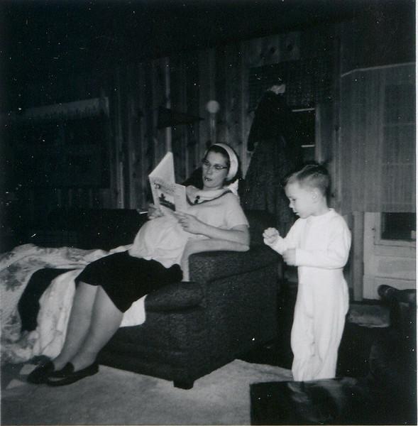 Christmas at Norton Lane Brian Mom & Therese (not born) Stable Lighting.jpg