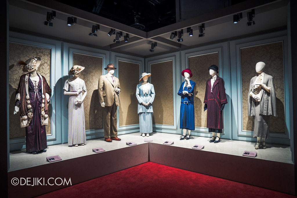 Downton Abbey The Exhibition - Costumes section 2