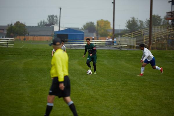 Varsity Soccer at Gervais