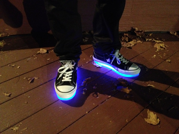 LED Sneakers 09/14/12