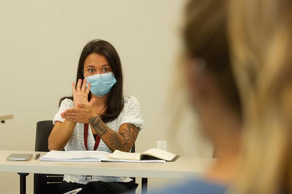 9/9/21 American Sign Language Class
