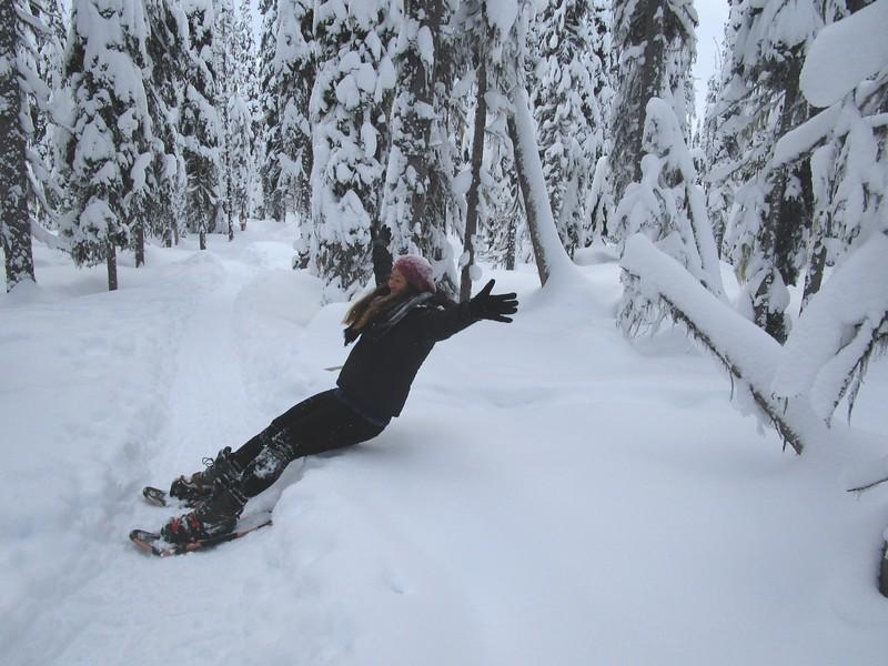 snowshoeing british columbia