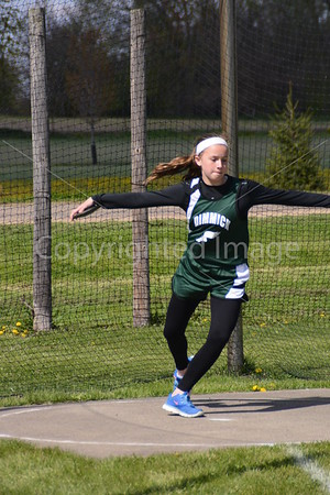La Moille Allen Jr. High Invitational Track Meet, April 30, 2015