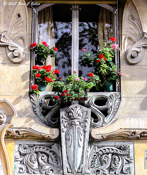 Hotel Window - Paris