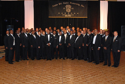 GZL Foundation Black and Gold Ball