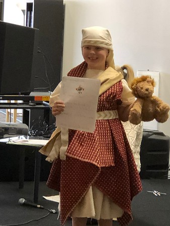 2020 First Grade Bible Character Day