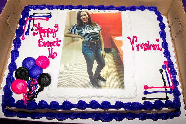 "Y""mahni's 16th Birthday"