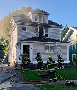 House fire - Kansas Street Rochester, NY - 9/23/20