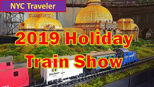 NYBG 2019 Holiday Train Show
