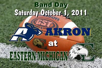 2011 Akron at Eastern Michigan (10-01-11)