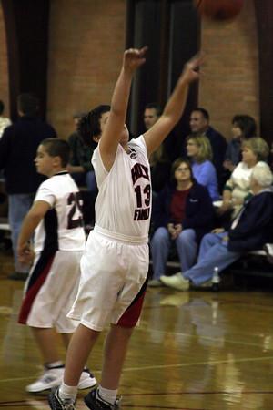 Holy Family Hawks Basketball 5th Grade vs St. Paul