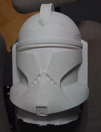 Hasbro -> AotC clone helmet