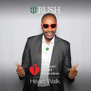 Rush AHA Walk Event Day 2