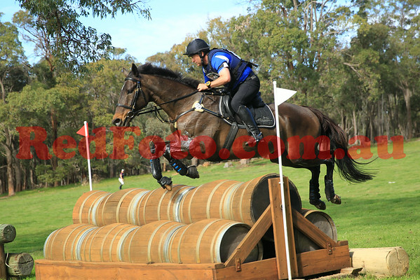 2014 08 10 Wooroloo PHT 3DE CrossCountry CCI 2 Star