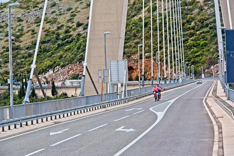 Franjo Tudjman Bridge, Dubrovnik, Croatia