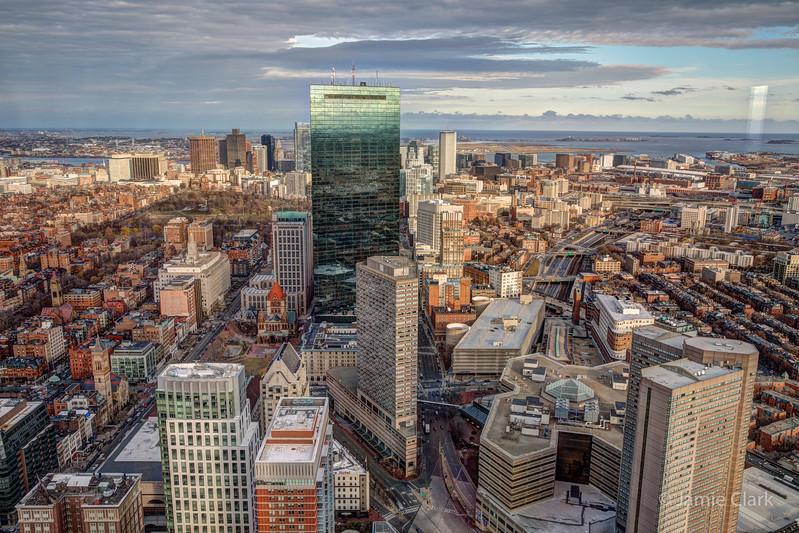 Prudential Tower and views - Winter Break in Boston 2016-17