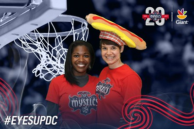 Washington Mystics Home Opener: 5/14/2017