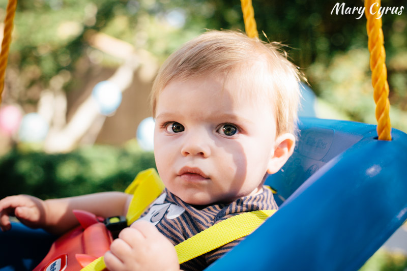 Little boy swinging | Photo by Mary Cyrus Photography - Portraits & Events in Dallas & Beyond