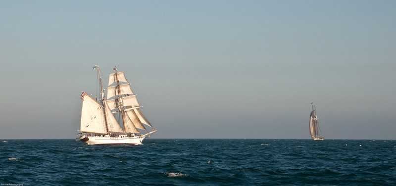 Two or more tall ships