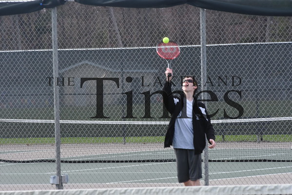 LUHS Boys' Tennis vs. Pacelli May 13, 2019