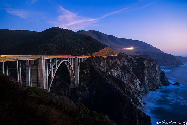 OCT 23 - Hearst Castle, Bixby Bridge