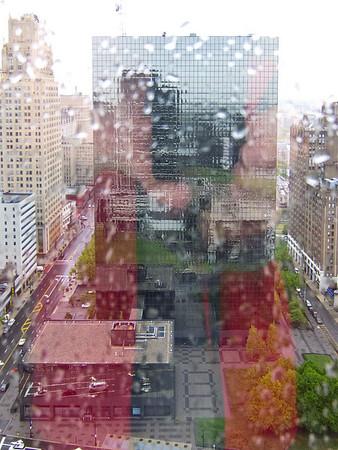 Newark (via a wet window)