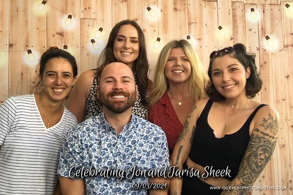 Celebrating Jon and Tarisa Sheek 09/03/21