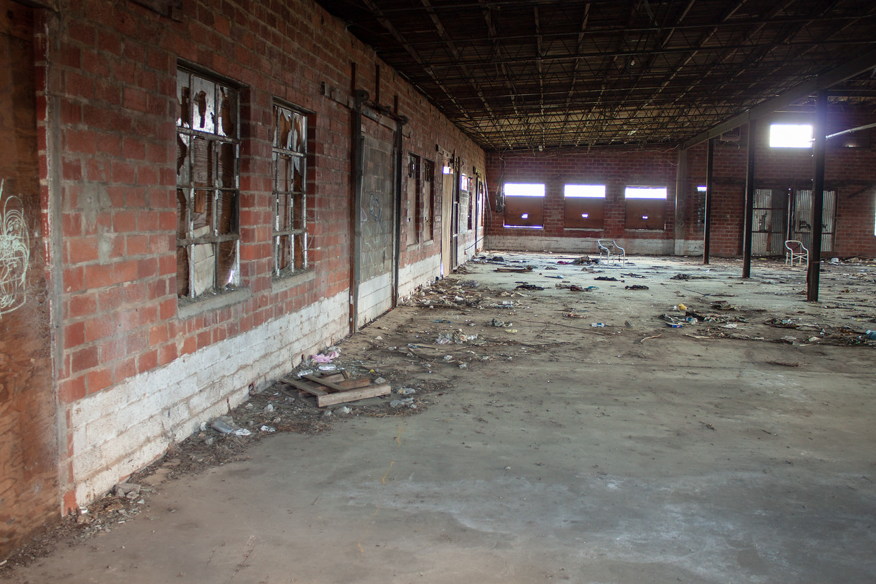 Abandoned Cannery in Lindale, Texas