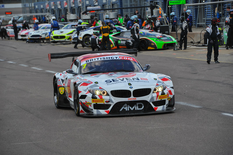 British GT Rockingham 2 Hour Race 2016  © 2016 Ian Musson. All Rights Reserved.