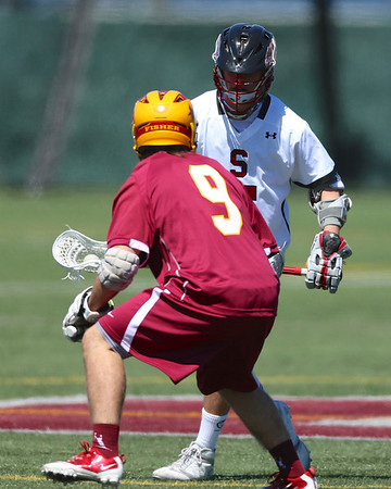 Stevens Lacrosse v St John Fisher April 6 2013