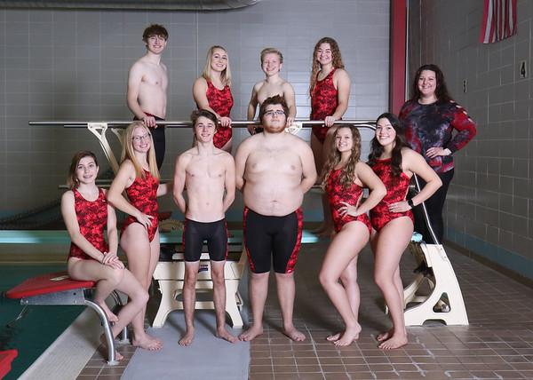 SNHS Swimming Team 2020-2021