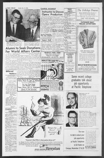 Daily Trojan, Vol. 54, No. 35, November 13, 1962