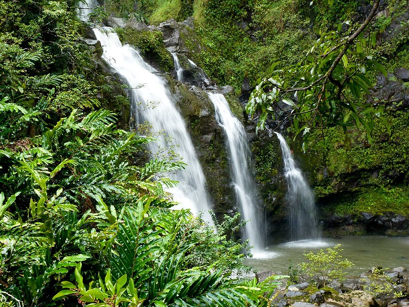 things to do in Maui - waterfalls