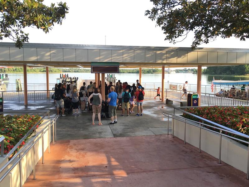 Ferry Dock - Magic Kingdom Walt Disney World