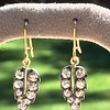 1.85ctw Victorian Leaf Component Earrings 11