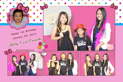 Kaley 1st Birthday (Multi-Photo Collage)