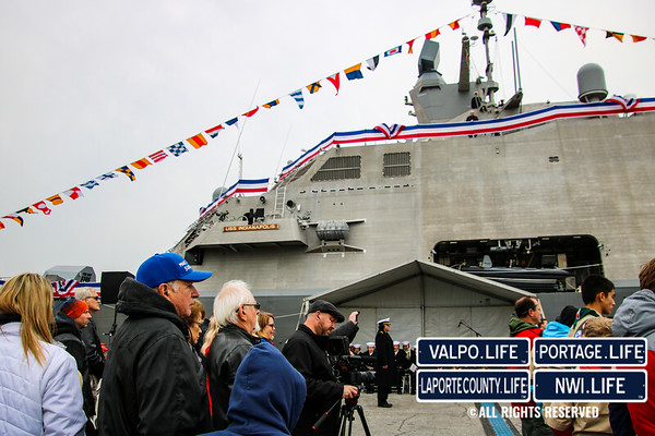 USS Indianapolis Commissioning Ceremony 2019